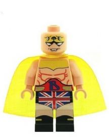 British Bulldog Big Ben - Custom Designed Minifigure
